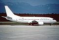 Aéromaritime Boeing 737-33A F-GFUC@GVA, September 1989 AVY (6328250681).jpg