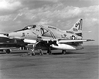 VMA-124 - An A-4E of VMA-124