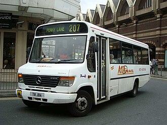 Plaxton Beaver - Image: A1A Travel 1 T111 JBA