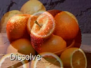Dissolve (filmmaking) gradual transition, in film or video, from one image to another
