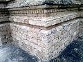 AMB Temples, three temples inside fort big temple corner plinth view.jpg