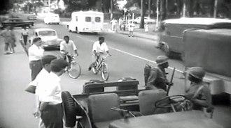 Congo Crisis - Force Publique soldiers in Léopoldville in 1960