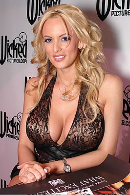 Stormy Daniels, een Penthouse Pet of the Month