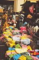ASC Leiden - W.E.A. van Beek Collection - Dogon markets 11 - Multi coloured clothing at the Sangha market, Mali 1992.jpg