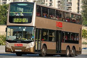 Alexander Dennis Enviro500 - Kowloon Motor Bus Enviro500 in November 2008