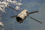 ATV-4 approaches the International Space Station 1.jpg