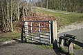 A closed gate - geograph.org.uk - 713296.jpg