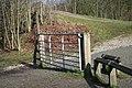 A closed gate - geograph.org.uk - 713296.jpg