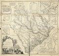 A map of the province of South Carolina with all the rivers, creeks, bays, inletts, islands, inland navigation, soundings, time of high water on the sea coast, roads, marshes, ferrys, bridges, swamps, LOC 74692124.tif