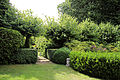 A path through shrub hedge Gibberd Garden Essex England.JPG