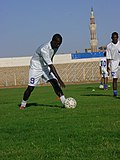 A picture of one of the exercises with the Sudanese Al Hilal team.jpg
