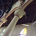 A pillar inside pioneer Qua Iboe Church building, Ibeno, Akwaibom state.jpg
