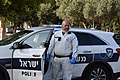 A police officer in Israel during the Corona epidemic, March 2020.jpg
