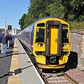 A train at Galashiels Station (geograph 4656987).jpg