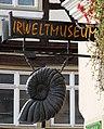 Aalen, Nasenschild Urweltmuseum, 1.jpeg