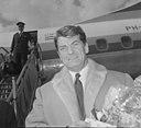 Aankomst Jean Marais op Schiphol,, Bestanddeelnr 917-6464