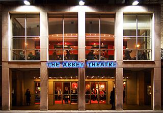 Abbey Theatre National Theatre of Ireland, Dublin, origins tied to the Irish Literary Revival