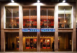 Abbey Theatre - Front facade