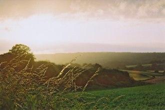 Abinger - Image: Abinger Common Fields
