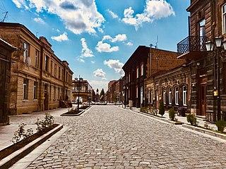Gyumri City and urban community in Shirak, Armenia