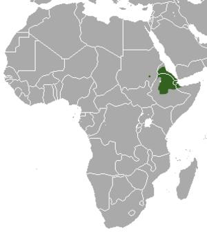 Abyssinian genet - Image: Abyssinian Genet area