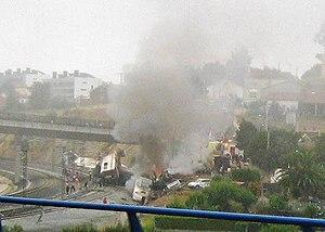 2013 in Spain - Santiago de Compostela derailment