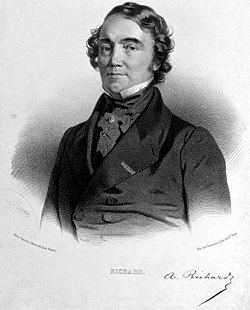 Achille Richard. Lithograph by N.-E. Maurin. Wellcome L0025132.jpg