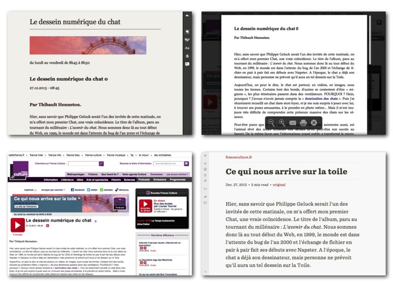 File:Activite3.2.1 Préparer un document Web à l'accessibilité.png Description Français : Comparaison de rendus d'un même contenu mais avec des logiciels de consultation différents