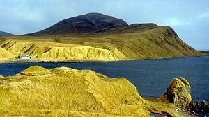 Adak Island - Adak's climate creates a tundra