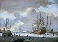Adam Silo - A Dutch Whaler and Other Vessels in the Ice.jpg