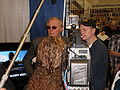 Adam West interviewed by Ray Griggs at WonderCon 2009 1.JPG