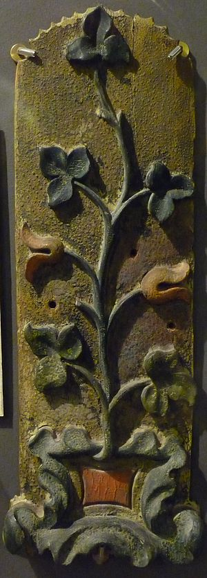 SS Admella - Ornate wood from ADMELLA shipwreck, 1859