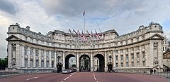 Admiralty Arch, widok od strony The Mall