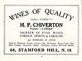 Advertisement HP Chiverton prop S Langman wine merchang 68 Stamford Hill N16.jpg