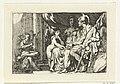 Aeneas vertelt Dido over zijn lotgevallen Geschiedenis van Dido en Aeneas (serietitel), RP-P-OB-46.776.jpg
