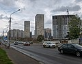 Aeradromnaja street (Minsk, Belarus) — Аэродромная улица (Минск, Беларусь) p02.jpg