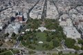 Aerial view of LaFayette Park, located directly north of the White House on H Street between 15th and 17th Streets, N.W., Washington, D.C LCCN2011646655.tif