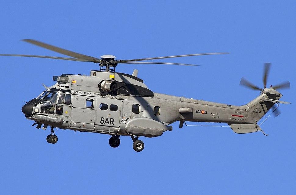 Aerospatiale AS-332B1 Super Puma - Lofting