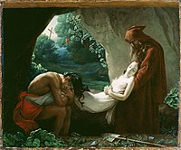 After Anne-Louis Girodet de Roucy-Trioson - Burial of Atala - 83.PA.335 - J. Paul Getty Museum.jpg