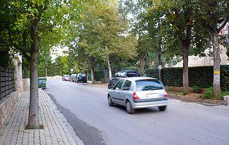 Marousi - Image: Agia filothei neibourhood