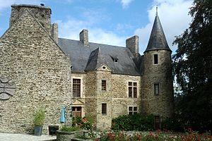 Le château Sainte-Marie.