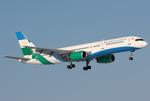 Air Bashkortostan Boeing 757-200 EI-LTO DME 2007-3-8.png