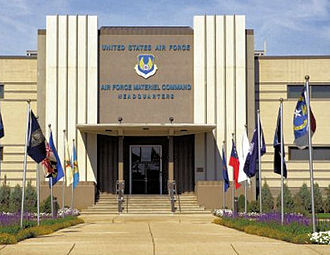 Wright-Patterson Air Force Base - Image: Air Force Materiel Command HQ WPAFB