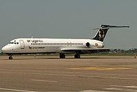 Air Uganda McDonnell Douglas MD-87 (DC-9-87) Potters-1.jpg