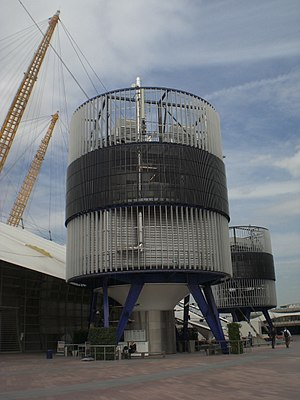 English: Air conditioning at the O2 Centre