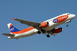 Pay to fly - Airbus A320-214, MyTravel Airways