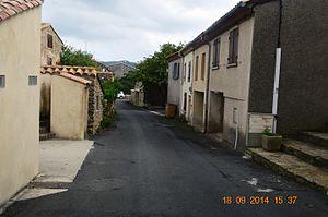 Albières - An Albières street