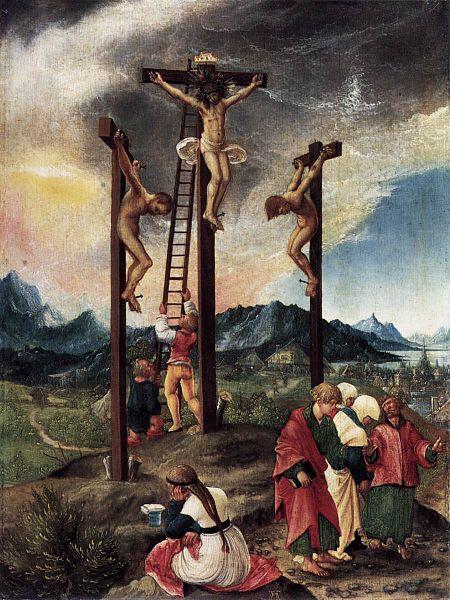Albrecht Altdorfer - Kreuzigung - 1526