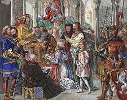 Albrecht III von Bayern lehnt Königskrone ab.jpg