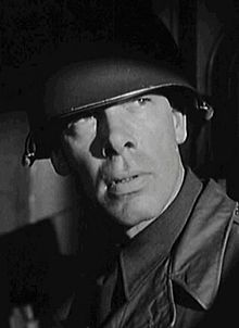 Lee Marvin en 1956 en a pelicula Attack.
